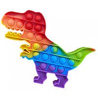 Игрушка антистресс Pop It Динозавр