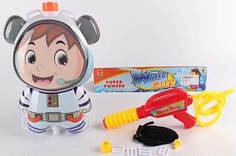 Детский водный пистолет с рюкзаком для воды Космонавт Metr+ 1887390_P3170
