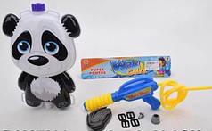Детский водный пистолет с рюкзаком для воды Панда Metr+ 1887386_P3166