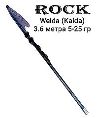 Удочка 3.6 м тест 5-25 гр Rock Weida (Kaida)