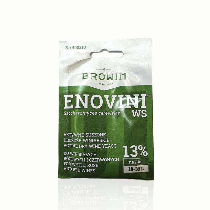 Дрожжи для столовых вин ENOVINI WS Browin (Польша)
