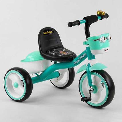 """Велосипед 3-х колёсный 80627 """"Best Trike"""" (1) пено колесо EVA со светом и звуком, звоночек, 2 корзины,"""