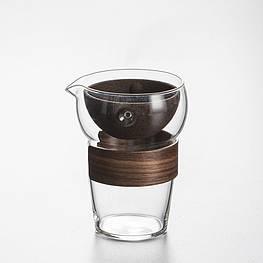 Чайник заварник гайвань, фильтр и гундаобэй в одном 370 мл