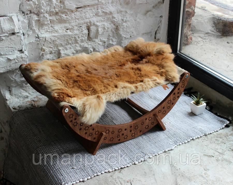 Гамак Лежанка для кота Лежак для кота Спальне місце КІТ-ПЕС by smartwood