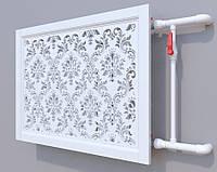 Декоративна решітка на батарею  | Екран для радіатора | Накладка на батарею 600*600