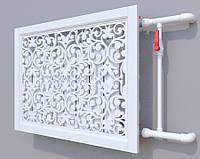 Декоративная решетка на батарею  | Экран для радиатора | Накладка на батарею 600*600