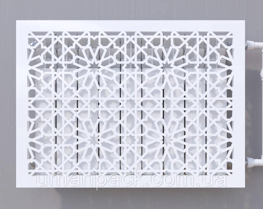 Декоративна решітка на батарею    Екран для радіатора   Накладка на батарею