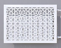 Декоративна решітка на батарею    Екран для радіатора   Накладка на батарею, фото 1