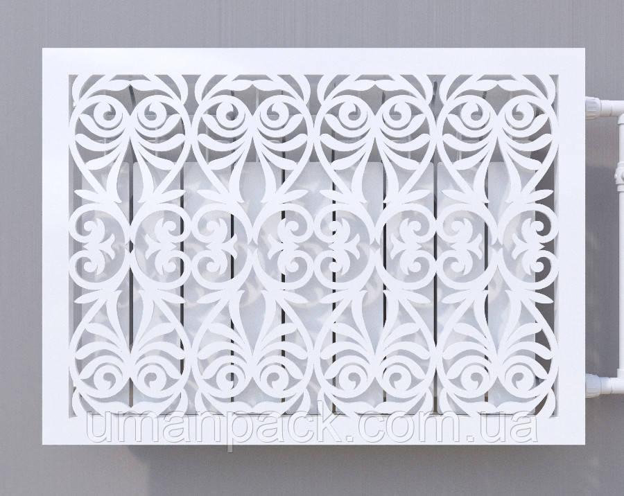 Декоративная решетка на батарею    Экран для радиатора   Накладка на батарею