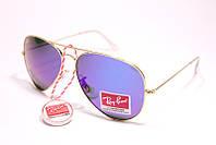 Очки солнцезащитные Ray Ban Авиатор капли стекло