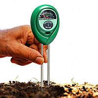 Ph тестер влажности, кислотности и освещенности почвы. Анализатор 3-1