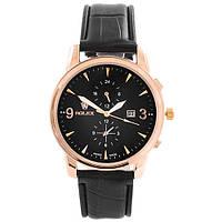 Годинники наручні 6295 Rolex Black G-Bk (копія)