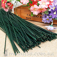 Cтебли для цветов - проволока в пластике, 30 см х 2 мм (10 шт)
