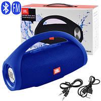 Bluetooth-колонка JBL BOOMS BOX MINI, c функцією PowerBank, speakerphone, радіо, blue