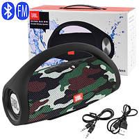 Bluetooth-колонка JBL BOOMS BOX MINI, c функцією PowerBank, speakerphone, радіо, camouflage