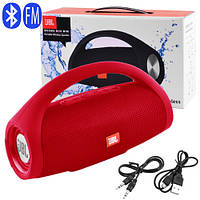 Bluetooth-колонка JBL BOOMS BOX MINI, c функцією PowerBank, speakerphone, радіо, red