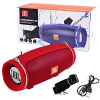 Bluetooth-колонка JBL CHARGE MINI 4+ FM, c функцією speakerphone, радіо, red