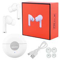 Бездротові bluetooth-навушники P90 Pro Moin Max 5.0 з кейсом, white