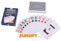 Пластикові карти Texas Poker (54 шт) №408-30-1