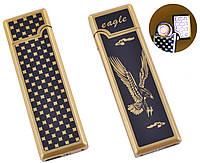 USB запальничка Орел (Спіраль розжарювання) №HL-138-4