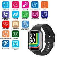 Smart Watch T68, температура тіла, голосовий виклик, black
