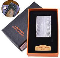 Запальничка подарункова Lighter (спіраль розжарювання, USB) №4701-8