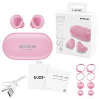Бездротові bluetooth-навушники Samsung Galaxy нирки золото+ з кейсом, pink
