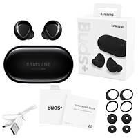 Беспроводные bluetooth-наушники Samsung Galaxy Buds+ с кейсом, black
