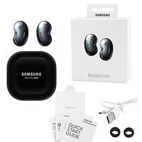 Бездротові bluetooth-навушники Samsung Galaxy нирки золото Live з кейсом, black