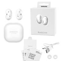 Бездротові bluetooth-навушники Samsung Galaxy нирки золото Live з кейсом, white