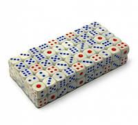 Кістки гральні 100шт (упаковка) 1.5 см №16Н