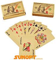 Пластикові карти Gold Dollar (54 шт) №408-5