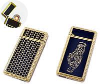 USB запальничка Тигр (Спіраль розжарювання) №HL-140-1