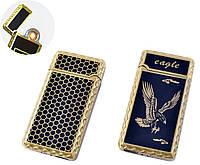 USB запальничка Орел (Спіраль розжарювання) №HL-140-3