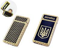 USB запальничка Україна (Спіраль розжарювання) №HL-141