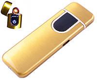 USB запальничка LIGHTER №HL-142 Gold