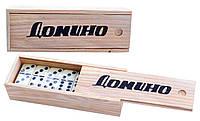 Доміно у бамбуковому футлярі №4807 D