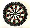 Дартс турнирный професиональный (мишень 45 см.) с металлической сеткой и 6 латунными дротиками