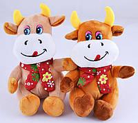 М'яка іграшка Бичок з шарфом №005462