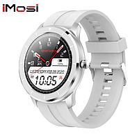 Мужские сенсорные наручные умные смарт часы Smart Watch Н67-35 фитнес браслет трекер Белые. Розумний годинник