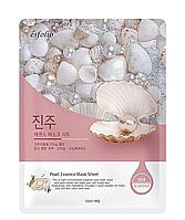 Тканевая маска c жемчугом Esfolio Pure Skin Pearl Essence Mask Sheet