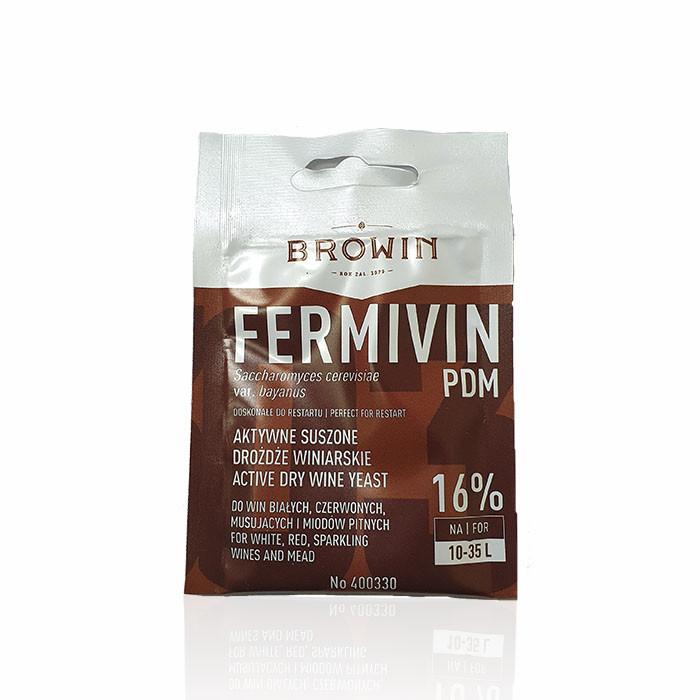 Винные дрожжи Browin FERMIVIN PDM (Польша)