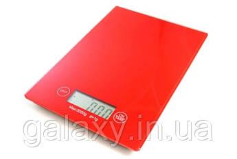 Весы кухонные сенсорные стеклянные KitchenScale