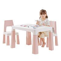 Столик детский и стульчики Bestbaby BS-8817 Pink игровой стол для детского сада дома рисования