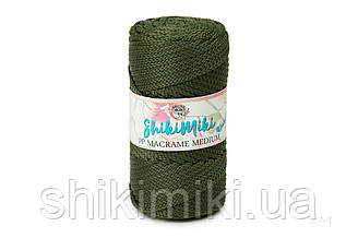 Трикотажный шнур PP Macrame Medium, цвет Хаки