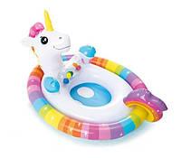 Детский Круг-плотик для плавания 59570, 4 вида (Единорог)