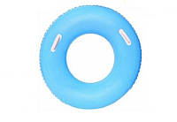 Детский надувной круг BestWay 36084 флуоресцентный (Голубой)