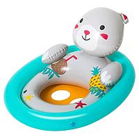 Детский плотик для купания Bestway 34058 с ручками (Мишка)