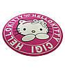Коврик под кресло защитный для пола АКЛАС Хэлло Китти Принтовый Розовый