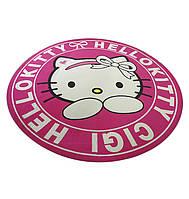 Коврик под кресло защитный для пола АКЛАС Хэлло Китти Принтовый Розовый, фото 1